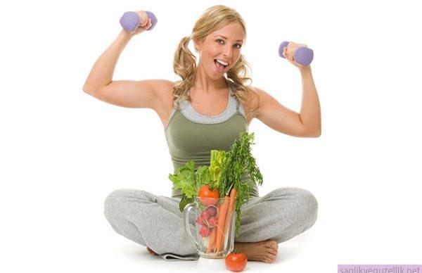 Mevsim yorgunluğu için diyet programı