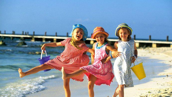 Deniz ve güneşin çocuklar üzerindeki etkileri